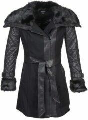 Zwarte Mantel Morgan GEFROU