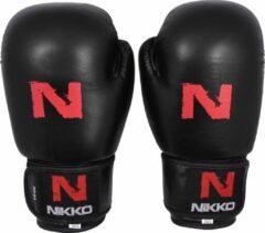 Zwarte Nikko Sports Nikko Bokshandschoenen Basic