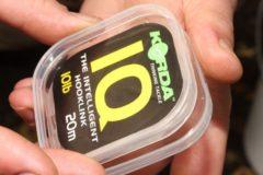 Transparante Korda IQ The Intelligent Hooklink | 15lb | 20m