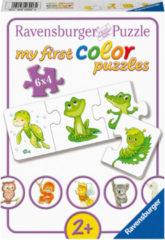 Ravensburger Spieleverlag Ravensburger puzzel Mijn liefste jonge dieren - 6x4 stukjes - kinderpuzzel