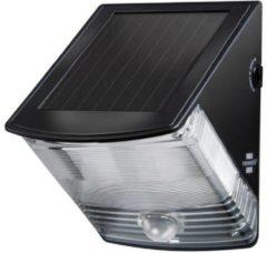Brennenstuhl SOL 04 plus 1170970 Solar wandlamp met bewegingsmelder 1 W Daglicht-wit Zwart