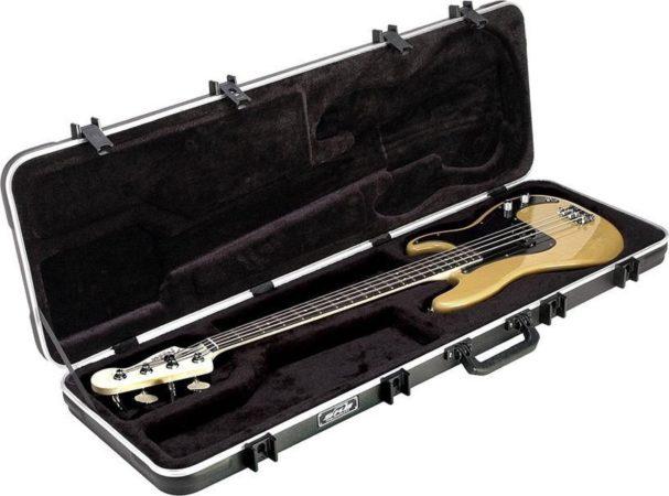Afbeelding van Zwarte SKB 1SKB-44 Electric Bass Rectangular Case basgitaar koffer