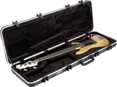 Zwarte SKB 1SKB-44 Electric Bass Rectangular Case basgitaar koffer