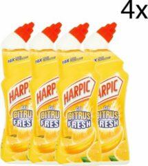 Harpic Toiletreiniger Gel Citrus Fresh - 4 x 750 ml