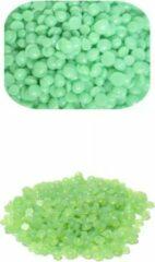 Groene LOUZIR Harde Wax Pellet -Hot wax intimicire Brazilian - Hotwax Beans - Wax ontharen - Harskorrels - Effectief Harsen - Waxen - ontharingswax - Wax Beans Brazilian Ontharen Voor Vrouwen Mannen - 1kg