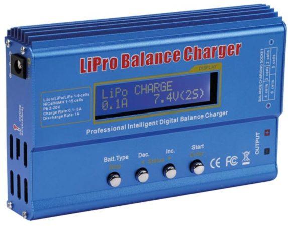 Afbeelding van LIPO-BALANSLADER - Li-ion / LiPo / LiFe / NiCd / NiMh / Pb