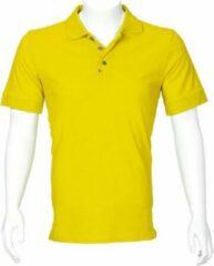Gele T'riffic Poloshirt Heren Poloshirt 4XL