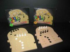 Keezbord uitbreidingsset Kunststof van 6 naar 8 personen