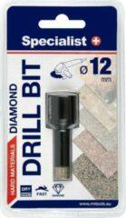 Zwarte SSpecialist+ Diamant tegelboor 20 mm Droog / Nat (M14) '' Specialist+''