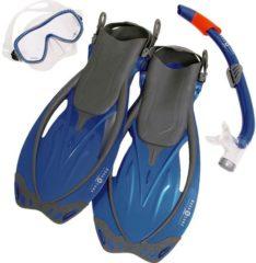Blauwe Aqua Lung Sport Yucatan Pro - Snorkelset - S/M (38-41) - Blauw