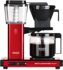 Technivorm Filterkoffiemachine KBG Select, Red Metallic - Moccamaster