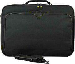 "Zwarte Tech air laptoptassen TANZ0119 classic clam briefcase for 17.3"" laptops"