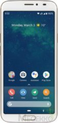 Doro 8080 - 4G Senioren Smartphone (Wit-Koper)