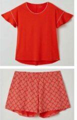Lords & Lilies pyjama dames - rood - 211-5-LPA-Z/433 - maat XL