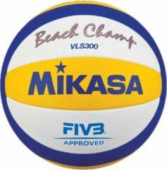 Witte Mikasa VLS300 - Beachbal