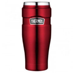 Rode Thermos Stainless King Isoleerbeker - 470ml - Cranberry