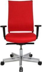 Topstar Design-Drehstuhl T400 mit Synchronmechanik, rot