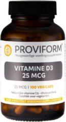 Proviform Vitamine D3 25 mcg 100 Vegacaps