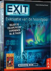 999 Games EXIT Evacuatie van de Noordpool - Escape Room - Bordspel