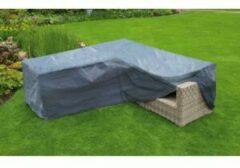 Grijze Nature beschermhoes voor loungeset - L-vorm - 90x250x90 cm