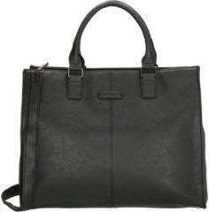 Zwarte Enrico Benetti Metz handtas 13 inch large black