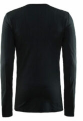 Zwarte Craft Active lange mouw heren thermoshirt