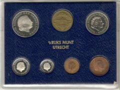 's Rijks Munt Nederland Jaarset Munten 1978 FDC