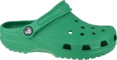 Crocs Crocband Clog K 204536-3TJ, Kinderen, Groen, Slippers maat: 24/25 EU