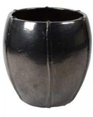 Grijze Ter Steege Moda pot 55x55x55 cm Grey bloempot