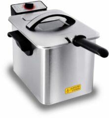Inventum GF645F Enkel Losstaand Frituurpan 4l 3000W Roestvrijstaal friteuse