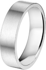 Zilveren Vigor The Jewelry Collection Ring A508 - 6 mm - Zonder Cz - Staal