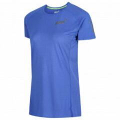 Inov-8 - Women's Base Elite S/S - Hardloopshirt maat 8, blauw