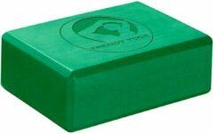 Trendy Sport Yoga blok - Yogablok - Yoga Block - 23 cm lang - 15 cm breed - 7.5 cm dik - Groen