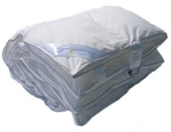 Witte ISleep Heavenly Dekbed - Enkel - Kunstdons - Eenpersoons - 140x200 cm - Wit