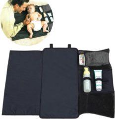 Donkergrijze ZAWAdeals - Cool-Zawadi Opvouwbare baby luier doek -verzorgingskussen deken - Waterafstotend