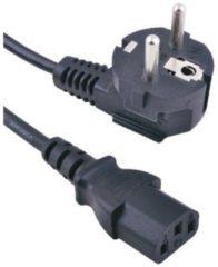 Zwarte NedRo Stroom Kabel universeel AC voor PC 1.5 Meter