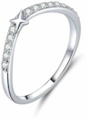Mijn bedels Sterling zilveren ring Ster