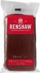 Bruine Renshaw - Rolfondant Pro 250g - Chocolade smaak