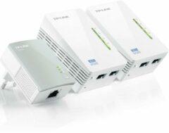 Witte TP-Link TL-WPA4220T KIT Mbps AV500 Wi-Fi Powerline startset