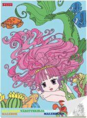Haza Original Kleurboek Zeemeermin Papier Blauw