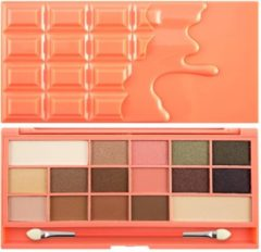 I Heart Revolution MAKEUP REVOLUTION Chocolate And Peaches paleta 16 cieni 22g