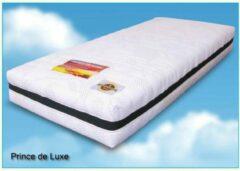 Witte NiceSleep.nl King de Luxe - Pocketvering Matras - Koudschuim Afdeklaag - 120x200x25 cm - Hard