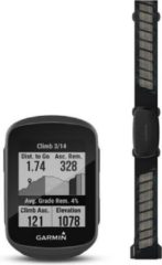 Zwarte Garmin Edge 130 Plus Fietscomputer - Performance bundel