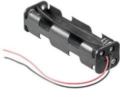 Goobay 11741 Batterijhouder 8x AA (penlite) Kabel (l x b x h) 108.5 x 31.5 x 29.5 mm