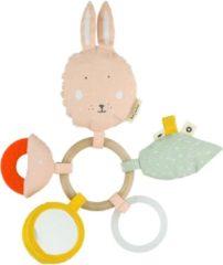 Trixie Speelring Mrs. Rabbit 24 Cm Katoen/polyester/tpe Roze
