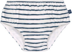 Marineblauwe Lässig Splash & Fun zwemluierbroekje jongens Stripes navy, 12 mnd, maat 74/80