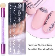 JobaStores® Nagellak Stempelset Easy Stamp 03
