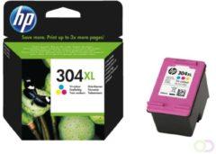 HP inktcartridge 304XL, 300 pagina's, OEM N9K07AE, 3 kleuren