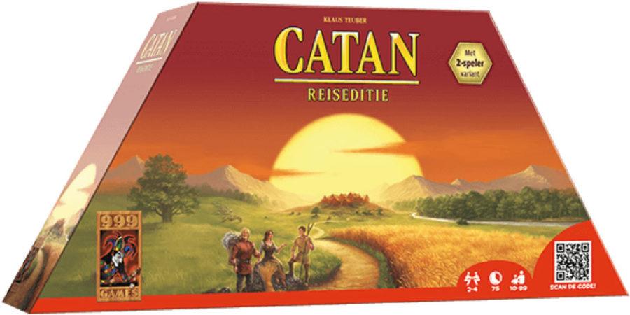 Afbeelding van 999 Games De Kolonisten van Catan: Reiseditie - Gezelschapsspel