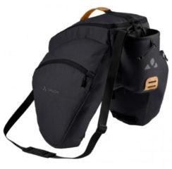 Vaude - eSilkroad Plus - Bagagedragertas maat 22 l, zwart
